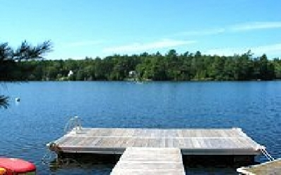 Private Dock on Long Pond
