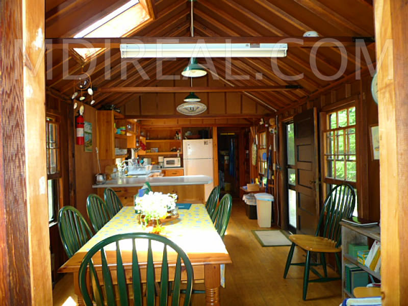 main house kitchen dining room